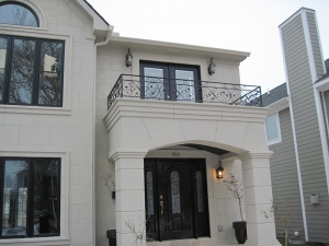 Custom Wrought Iron Railings Detroit MI - San Marino Iron Works - 020510_019