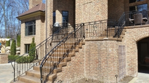Custom Deck Railings Birmingham MI - San Marino Iron Works - 20150417_120401