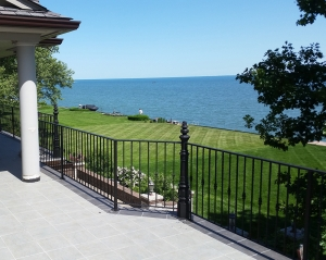 Custom Deck Railings Bloomfield Hills MI - San Marino Iron Works - 20150603_153404