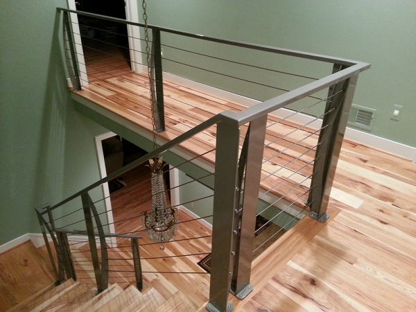 ... Custom Stair Railings Detroit MI   San Marino Iron Works    20121220_233518 ...