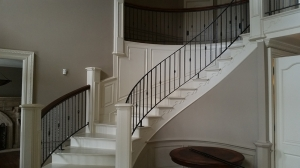 Custom Stair Railings Rochester Hills MI - San Marino Iron Works - 20150107_103124