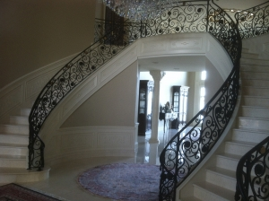 Custom Wrought Iron Railings Detroit MI - San Marino Iron Works - DavesiPhone_178