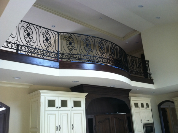 Wrought Iron Railings Rochester Hills MI - San Marino Iron Works - 104