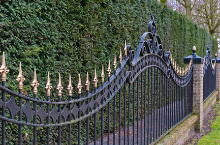 Wrought Iron Gates Plymouth MI - San Marino Iron Works - fence