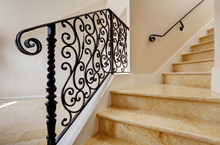 wrought iron railings for porch stairs railing parts suppliers rod decks warren works